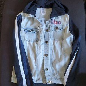 Disney store America Chavez denim hooded jacket